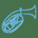 Unsere Musiker der Register Tenorhorn und Bariton